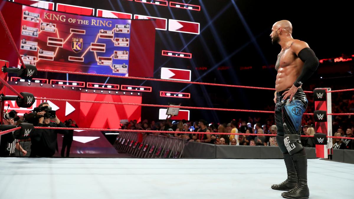 WWE Raw King Of The Ring Ricochet