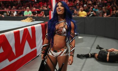WWE Raw Sasha Banks Return