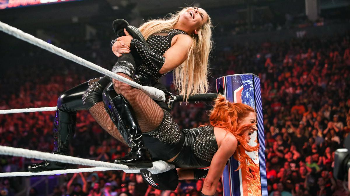 WWE SummerSlam 2019 Natalya Becky Lynch