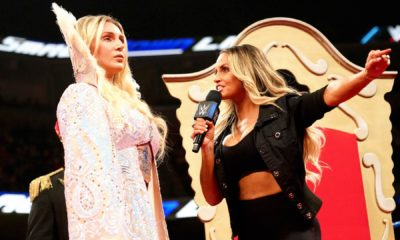 WWE SummerSlam Charlotte Flair Trish Stratus