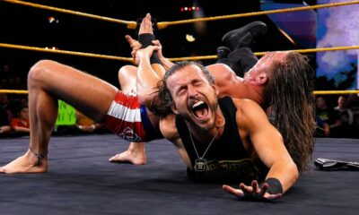 WWE NXT Adam Cole Matt Riddle