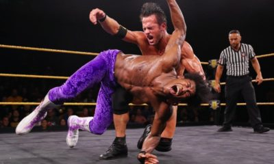 WWE NXT Roderick Strong Velveteen Dream
