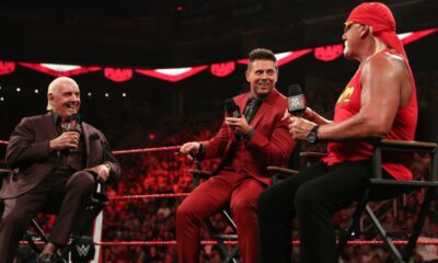 WWE Raw Ric Flair The Miz Hulk Hogan
