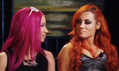 WWE Sasha Banks Becky Lynch