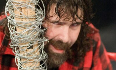 Mick Foley Barbed Wire Bat