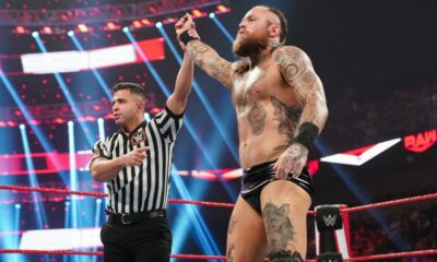 WWE Raw Aleister Black