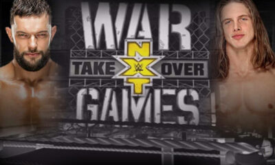 WWE NXT Takeover War Games Finn Balor Matt Riddle