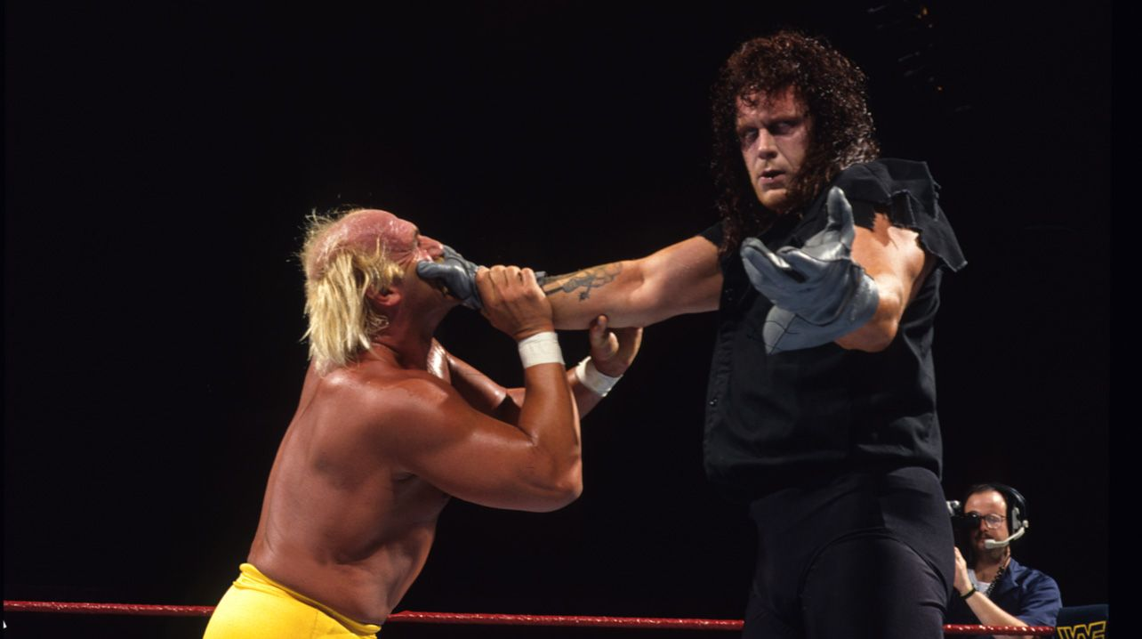 WWE Survivor Series 1991 The Undertaker Hulk Hogan