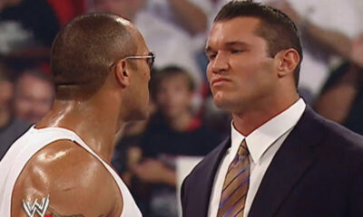 WWE The Rock Randy Orton