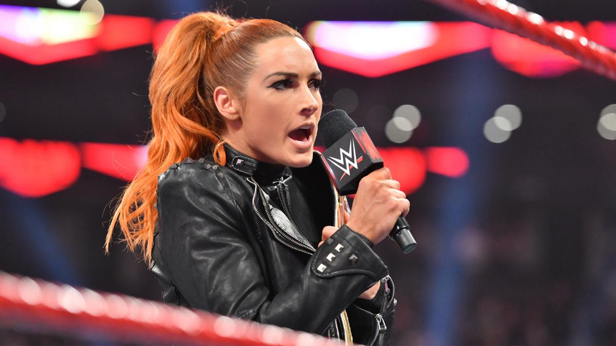 WWE Raw Becky Lynch