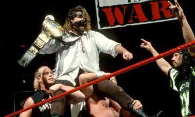 Mankind WWF Championship Mick Foley WWE DX Raw