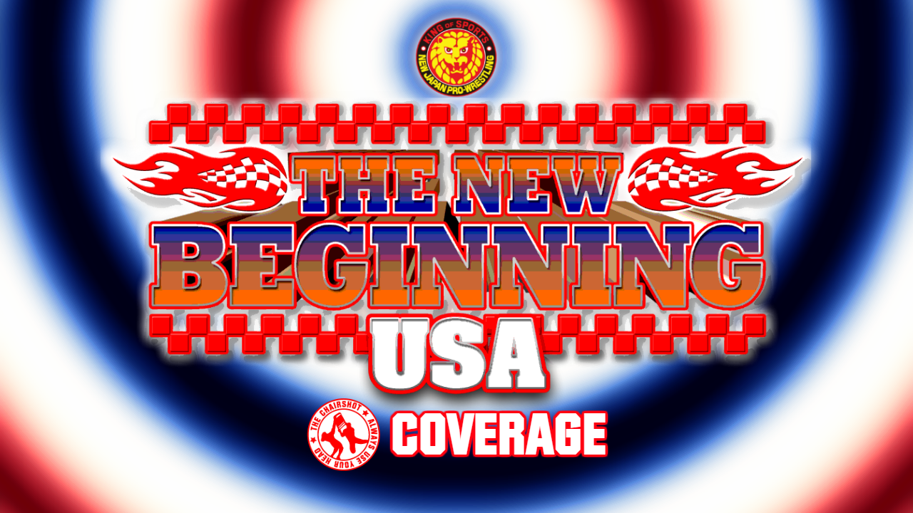 NJPW New Beginning USA