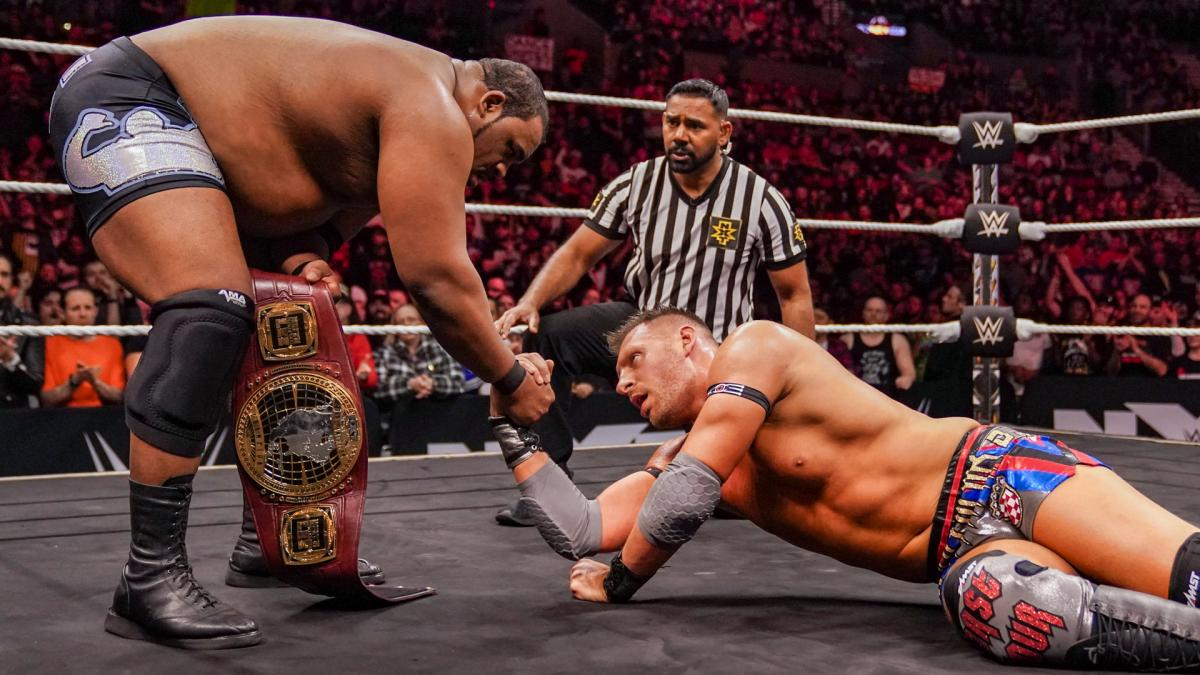 WWE NXT Takeover Portland Keith Lee Dominik Dijakovic