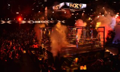 WWE NXT Steel Cage Match