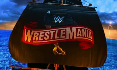 WWE WrestleMania 36 Pirate Ship