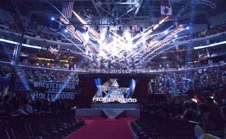 WWE WrestleMania 21 Stage