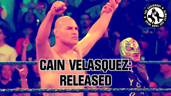 WWE Velasquez Released