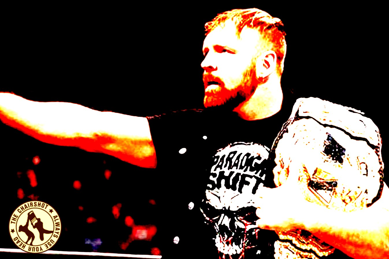 Jon Moxley AEW Champion Chairshot Edit
