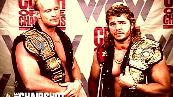 The Hollywood Blondes WCW Brian Pillman Steve Austin