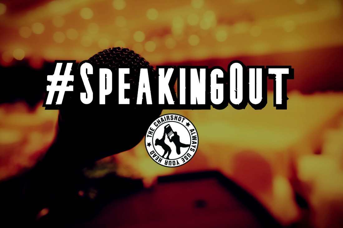 Speaking Out Wrestling Chairshot Edit
