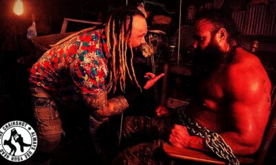 WWE Extreme Rules Horror Show Braun Strowman Bray Wyatt Swamp Fight Chairshot Edit