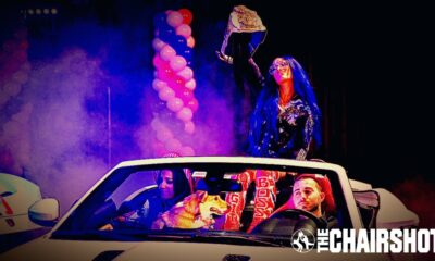WWE NXT Great American Bash Sasha Banks Bayley Car Chairshot Edit