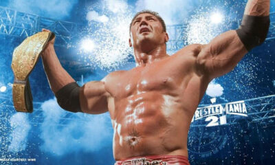 Batista World Heavyweight Champion WWE WrestleMania 21
