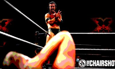WWE NXT Takeover XXX Adam Cole Pat McAfee Chairshot Edit