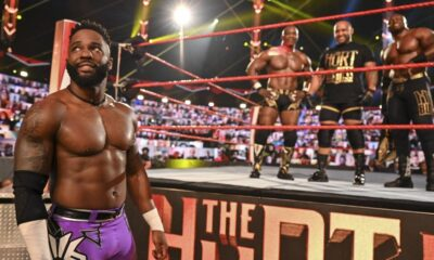 Cedric Alexander The Hurt Business WWE Raw