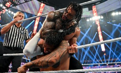 WWE Clash Of Champions Roman Reigns Jey Uso
