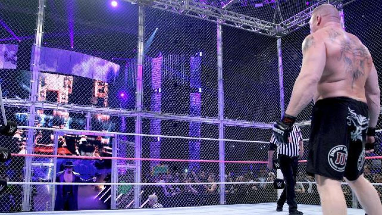 WWE Hell In A Cell 2015 The Undertaker Brock Lesnar