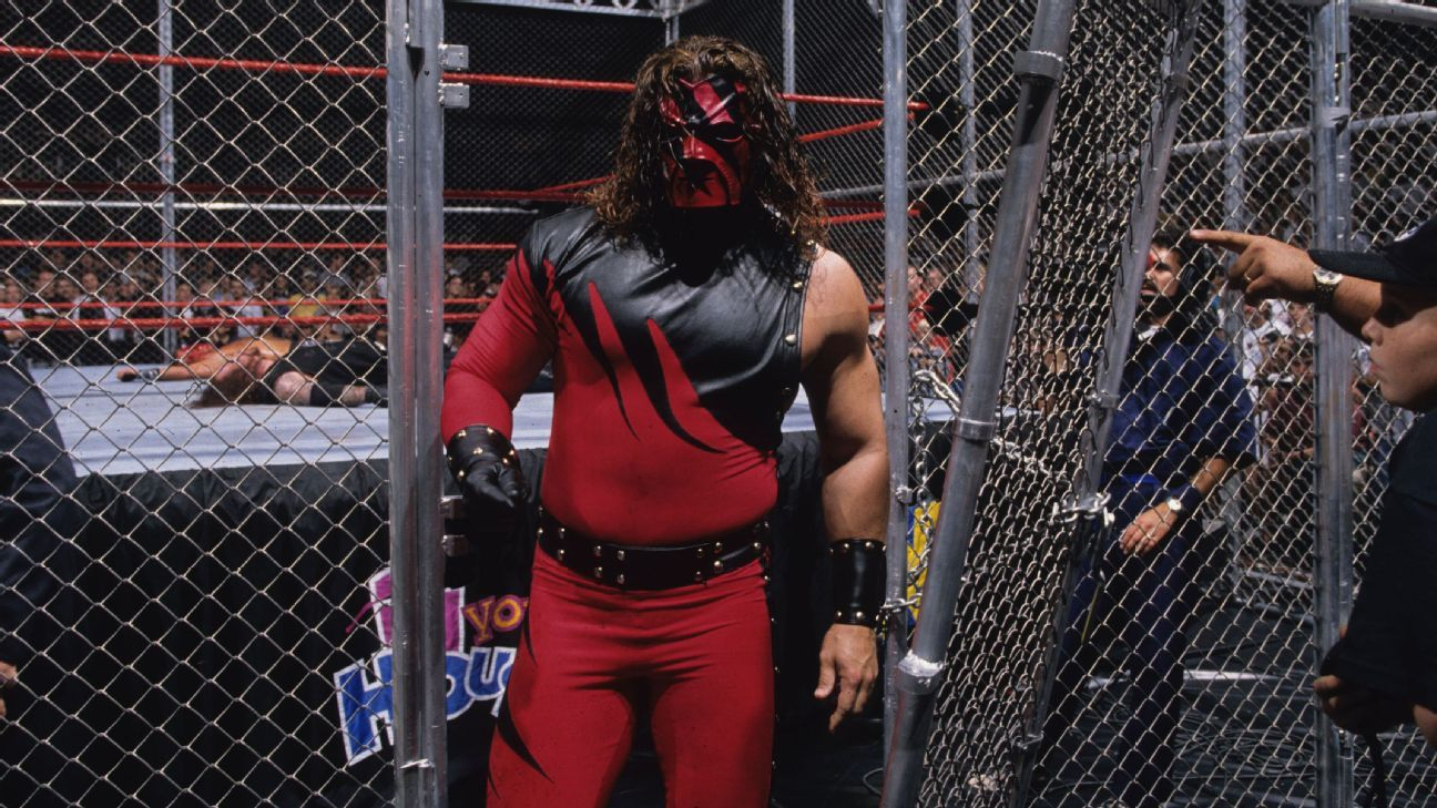 WWE Hell In A Cell Badd Blood 1997