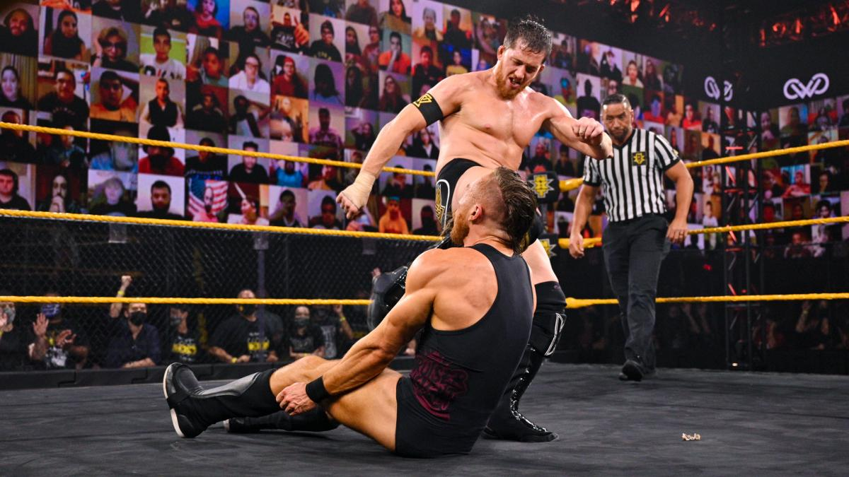 WWE NXT Kyle O'Reilly Pete Dunne