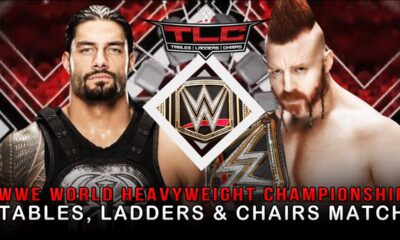 WWE TLC 2015 Roman Reigns Sheamus