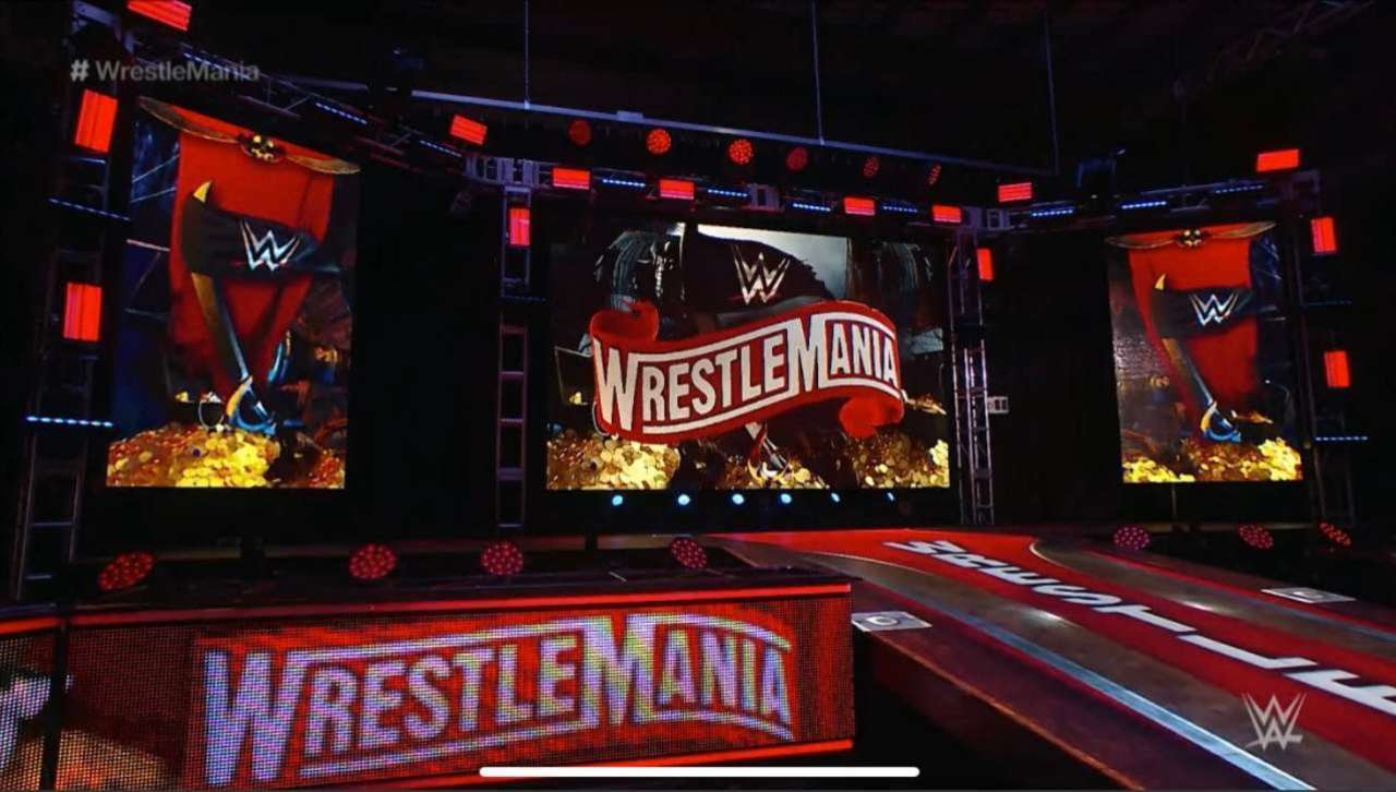 WWE WrestleMania 36 Stage