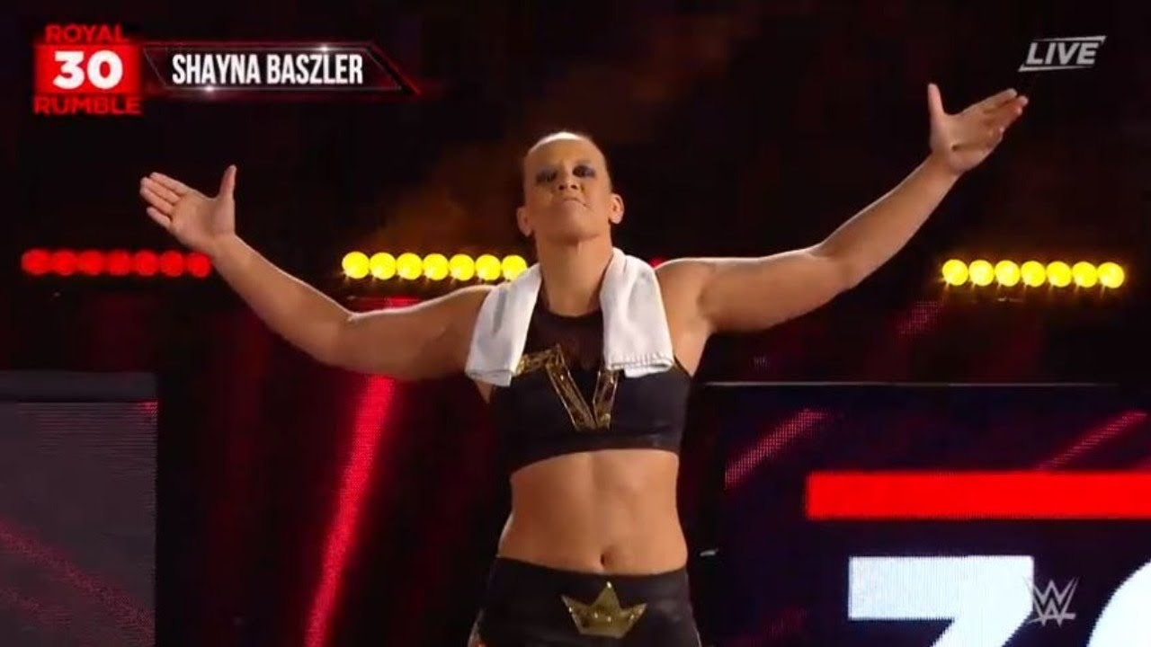 Shayna Baszler WWE Royal Rumble 2020