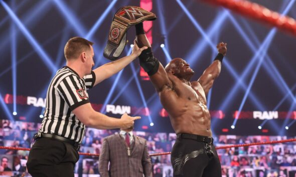 Bobby Lashley WWE Champion Raw