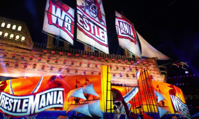 WrestleMania 27 Stage