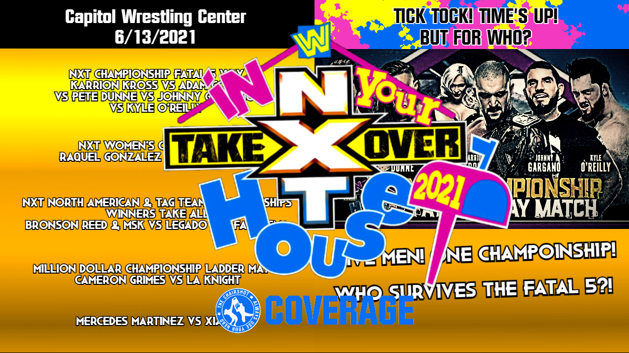 NXT TakeOver In Your House 2